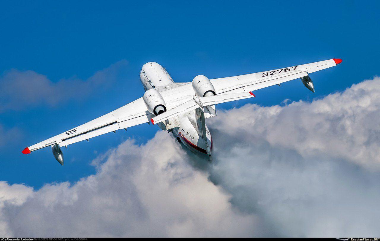 Разработка российского двигателя для Бе-200 в планах - пока же SaM146